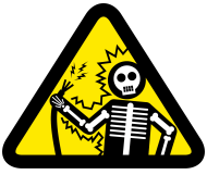 Electricity is dangerous!