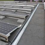 Kinetic Solar flat roof mounts