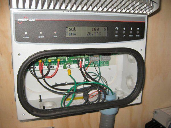 6kW Power-One Aurora wind inverter