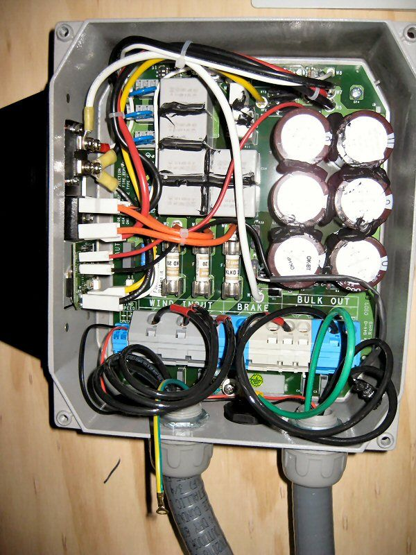 PVI-Wind-Interface rectifier box