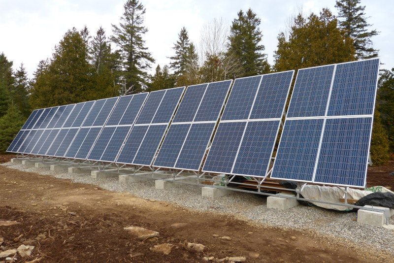 Solar Panel Racking Systems Ontario Cosmecol
