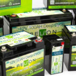 Relion batteries closeup