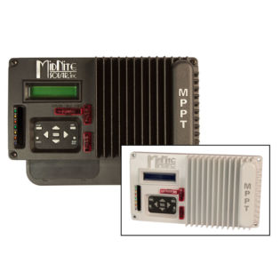 12-48V Battery 30A Midnite Solar Black with LCD /& wall mount bracket The KID MPPT Charge Controller 150VDC MNKID-B