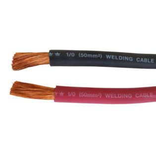 Battery Interconnect Cable Red 6 Inch 2//0 AWG for Solar Panel Wind Generator