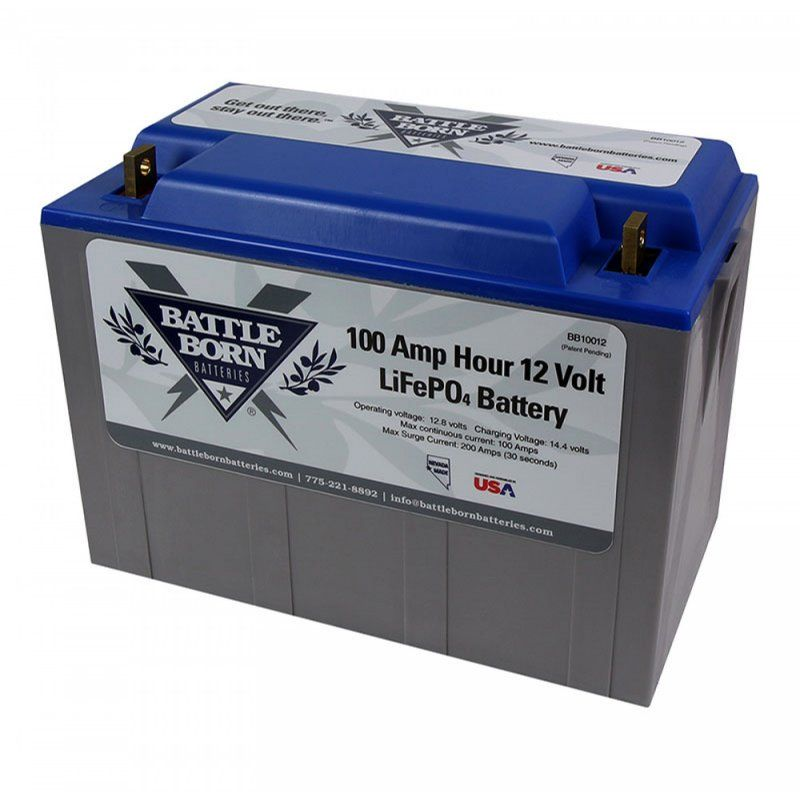 Battle Born 12 Volt 100Ah LiFePO4 Battery