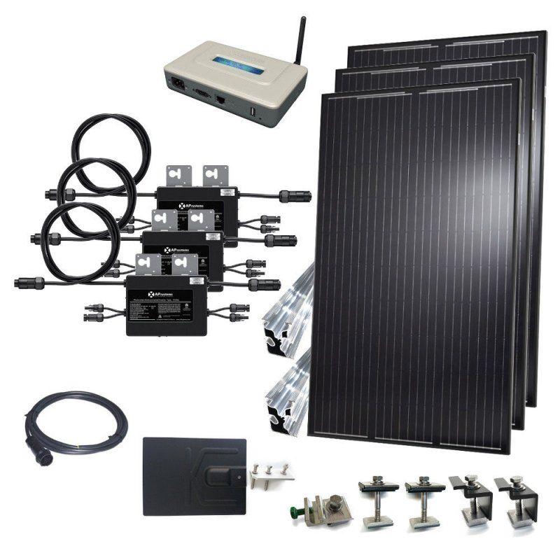 10kw Grid Tie Kit Micro Inverters Solacity Inc