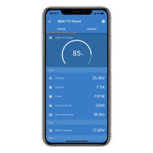 Victron BMV-712 phone app